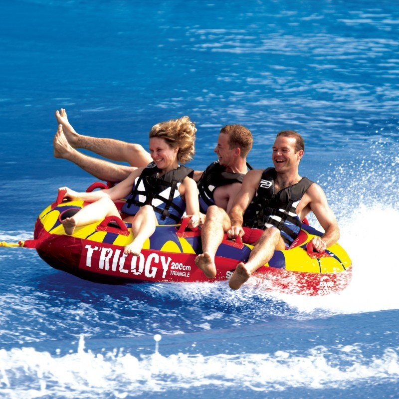 Water Floats And Tubes ~ Trilogy towable water tube riders sp
