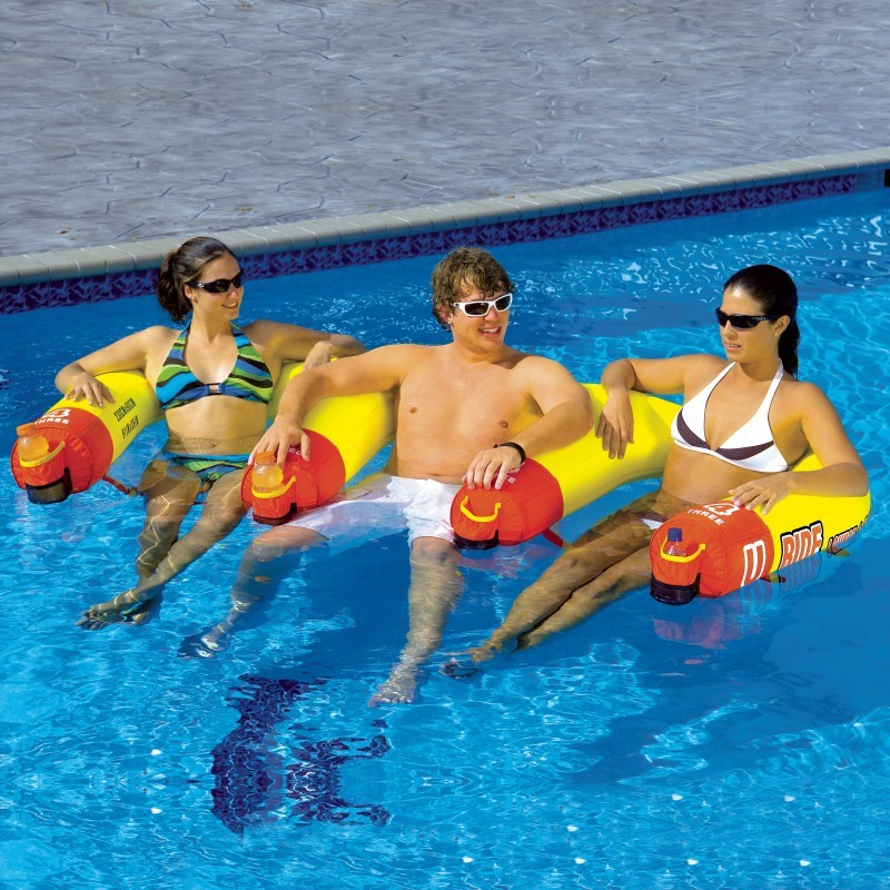 U-Ride 3 Person Pool Float