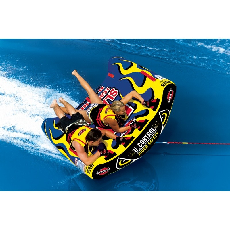 Water Sports Tubing: U-Slalom 2 Towable Tube 2-Rider