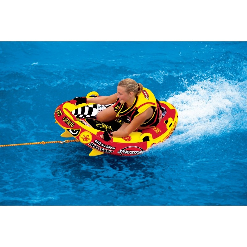 Water Sports Tubing: Wake Yak Solo 1 Person Towable Tube