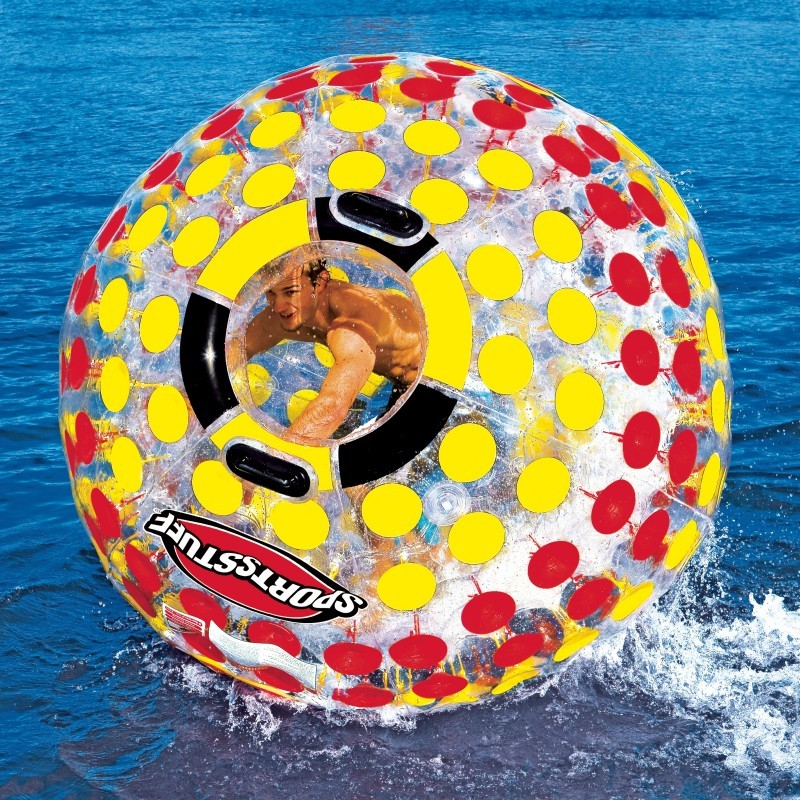 Infant Pool Float: Inflatable Nuclear Water Globe Float