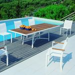 Outdoor Dining Set - Rivage 9-Piece MUR01S