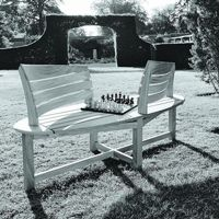 Outdoor patio benches, modern, luxury, contemporary