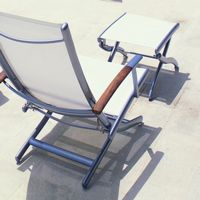 Rivage lacquered aluminum high end outdoor furniture
