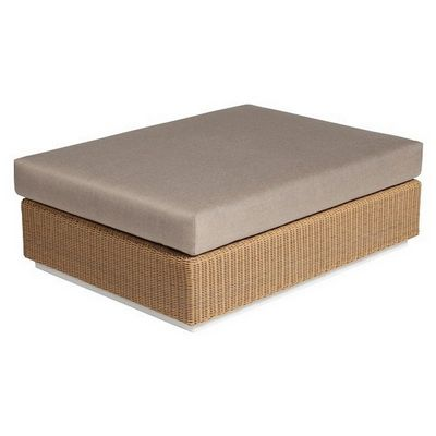 Hardy Outdoor Sectional Ottoman Module TRI33300-33305