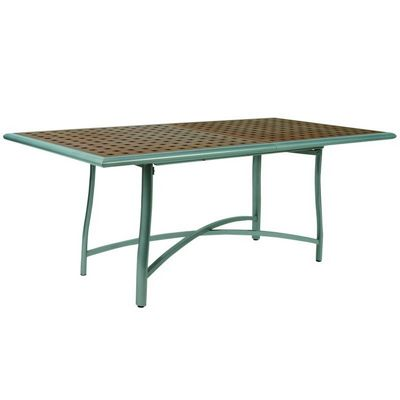 Rivage Rectangular Dining Table with Teak Top MUR264