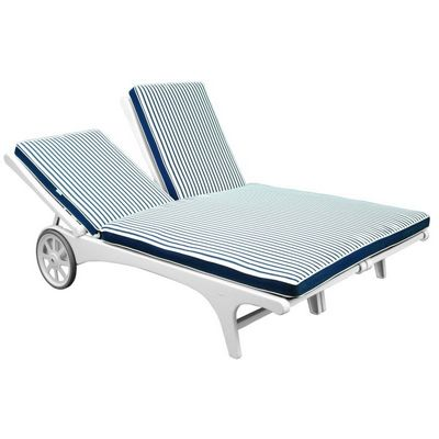 Riviera outdoor chaise lounge two seater mt208 cozydays for 2 seater chaise lounge