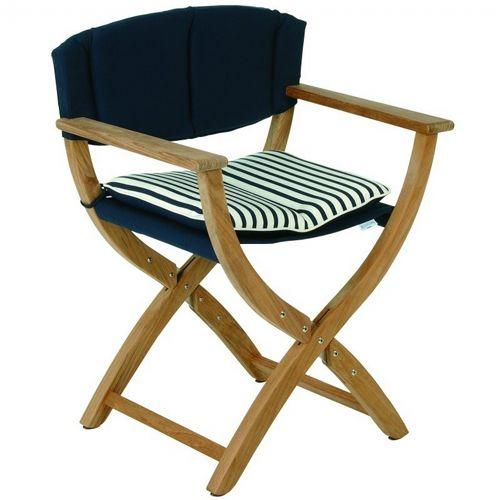 Swell Normandy Teak Directors Chair Unemploymentrelief Wooden Chair Designs For Living Room Unemploymentrelieforg