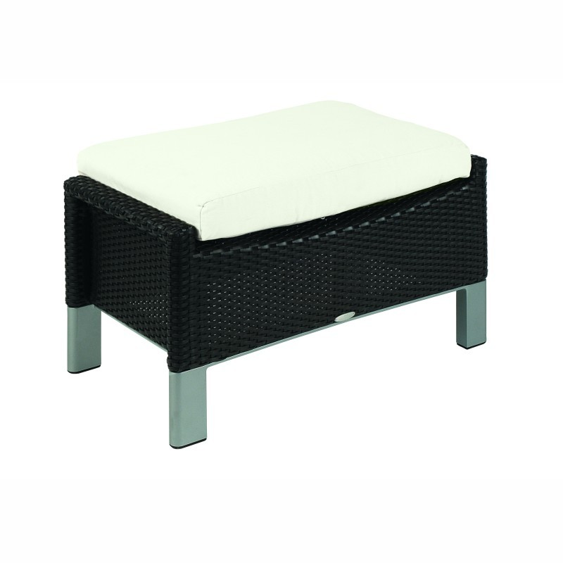 Outdoor Furniture: Outdoor Wicker: Biarritz Outdoor Ottoman