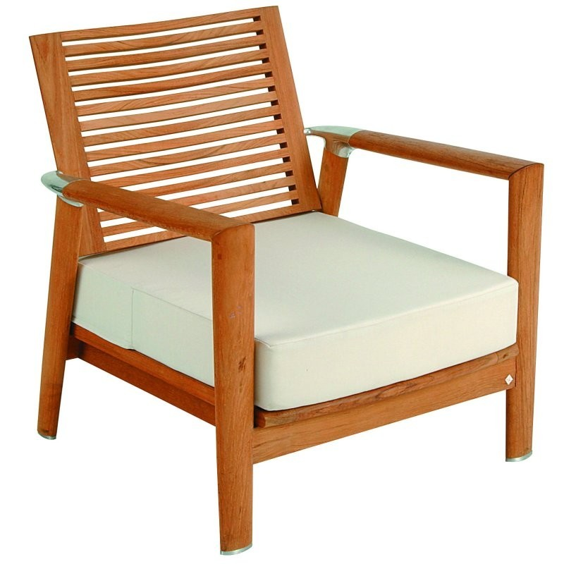 Equinox Teak Club Armchair : Patio Chairs