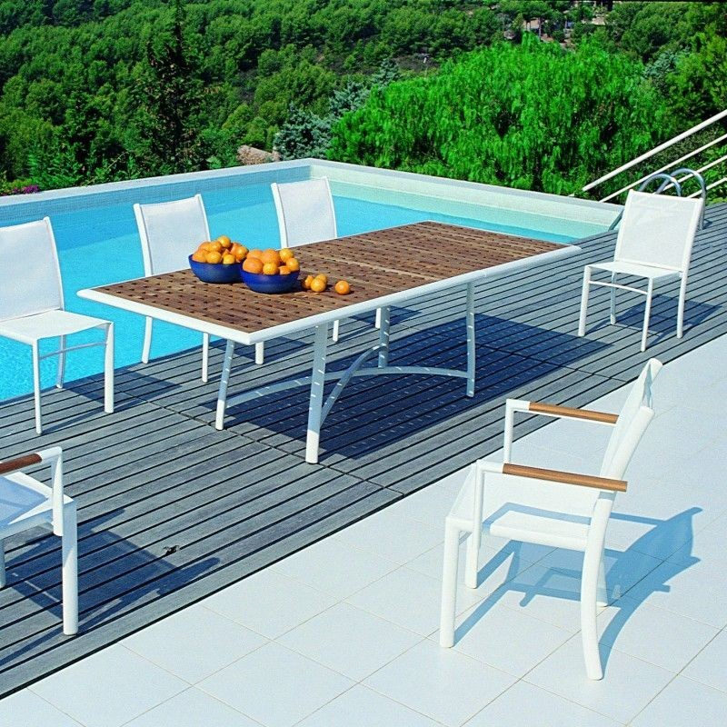 Outdoor Dining Set - Rivage 9-Piece