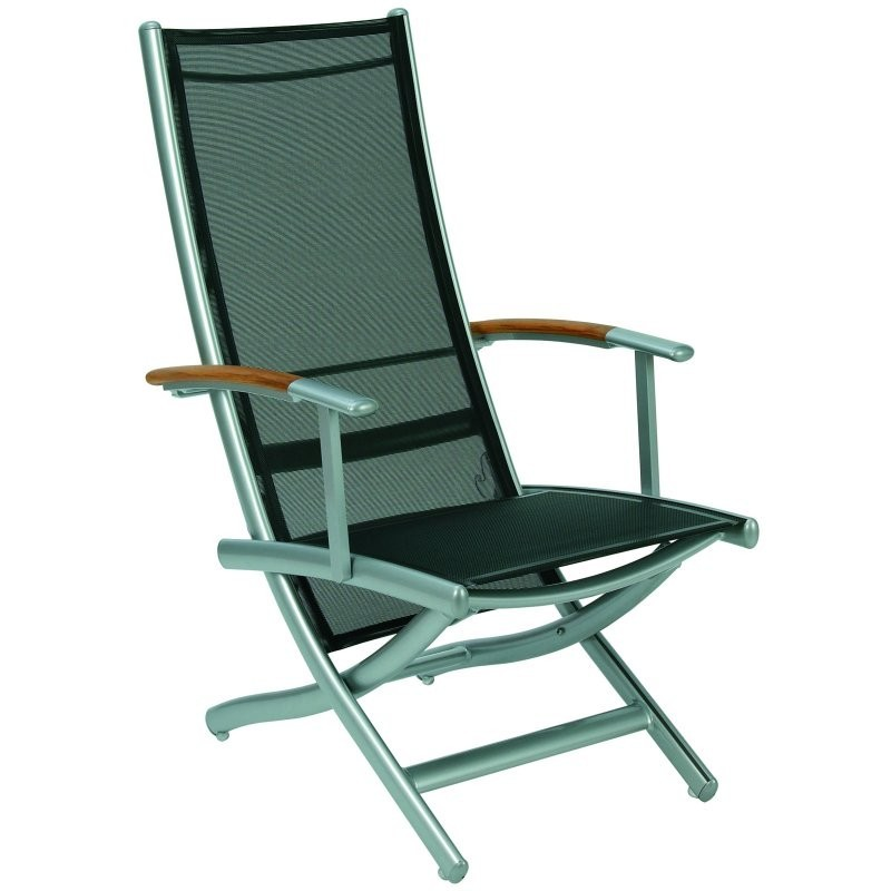 Rivage Multiposition Armchair : White Patio Furniture