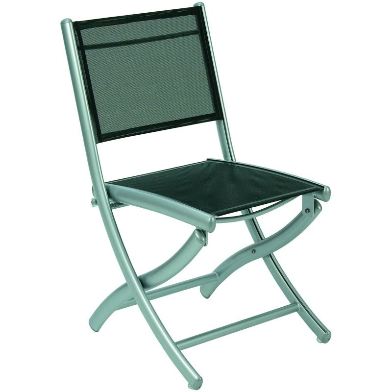 Heavy Duty Folding Outdoor Rocking Chair: Triconfort Rivage Folding Outdoor Side Chair