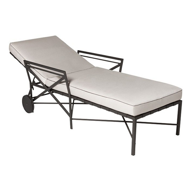 Triconfort 1950 outdoor chaise lounge for 1950s chaise lounge