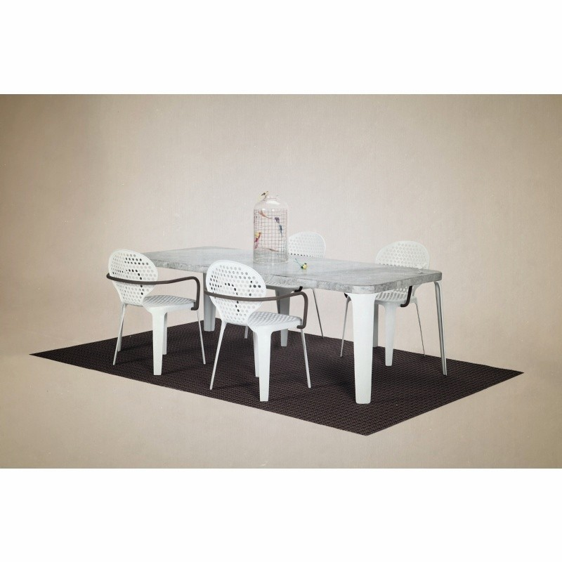 Triconfort Oblo Outdoor Dining Set 5 Piece
