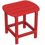 POLYWOOD® South Beach Side Table 15 x19 Fiesta PW-SBT18