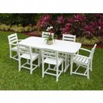 POLYWOOD® La Casa Outdoor Dining Set 7 Piece PW-PWS131-1