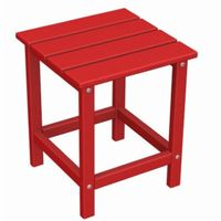 "POLYWOOD® Long Island Side Table 15"" Square Fiesta PW-ECT18"