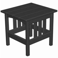 POLYWOOD® Mission Outdoor Square Side Table PW-MS2224