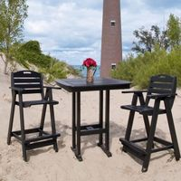 POLYWOOD® Nautical Three Piece Bar Set PW-3ANCBT37