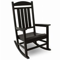 POLYWOOD® Presidential Outdoor Rocker Traditional Colors PW-R100