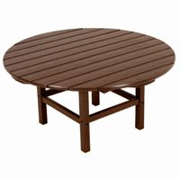 POLYWOOD® Round Conversation Table 38 inch Classic Colors PW-RCT38