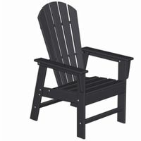 POLYWOOD® South Beach Adirondack Dining Chair Classic PW-SBD16
