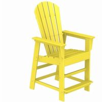 POLYWOOD® South Beach Counter High Chair Fiesta PW-SBD24