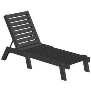 POLYWOOD® Captain Outdoor Chaise Lounge PW-CH7826