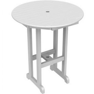 POLYWOOD® Round Bar Table 36 inch PW-RBT236