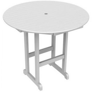 POLYWOOD® Round Bar Table 48 inch PW-RBT248