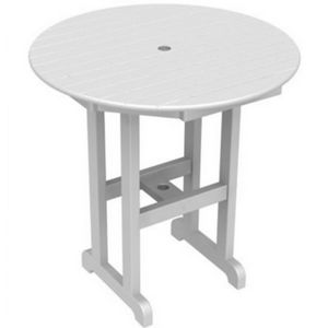 POLYWOOD® Round Counter Height Table 36 inch PW-RRT236