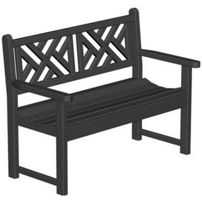 POLYWOOD® Chippendale Outdoor Bench PW-CDB48