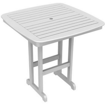 POLYWOOD® Nautical Square Bar Table 44 inch PW-NCBT44