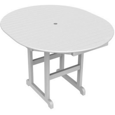 POLYWOOD® Oval Counter Height Table 56 Inch