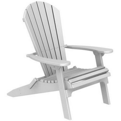 POLYWOOD® Seashell Adirondack Chair Folding PW-SHAD