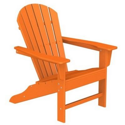 polywood south beach adirondack chair fiesta - Polywood Adirondack Chairs