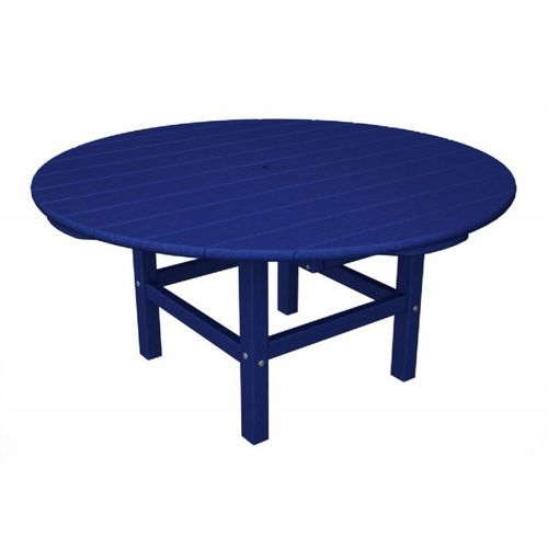 POLYWOOD® Round Conversation Table 38 inch Vibrant Colors PW-RCT38