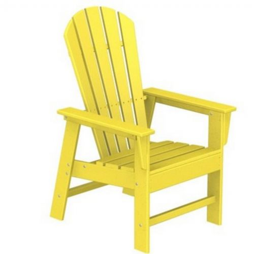 POLYWOOD® South Beach Adirondack Dining Chair Fiesta PW-SBD16