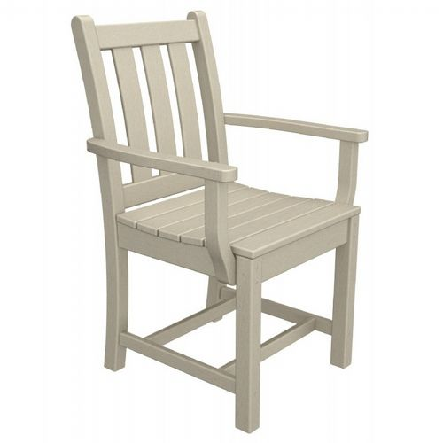 POLYWOOD® Traditional Outdoor Dining Armchair PW-TGD200