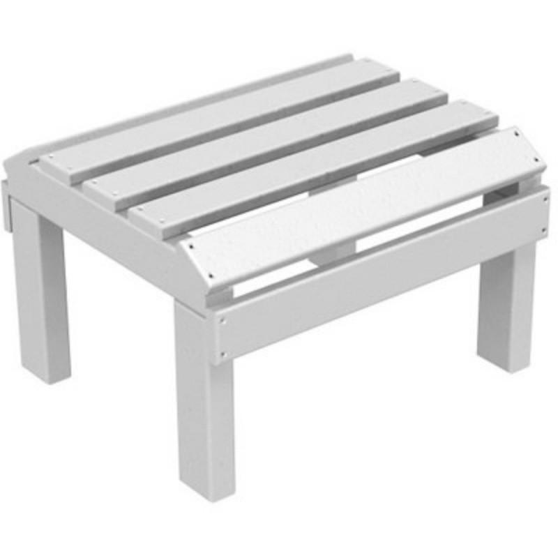 Polywood plastic adirondack recliner ottoman pw ot20 - Plastic adirondack footrest ...