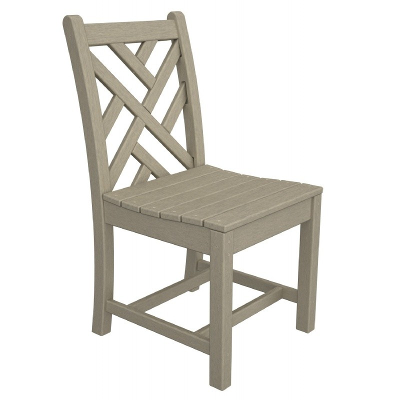 Plastic Chippendale Outdoor Dining Chair
