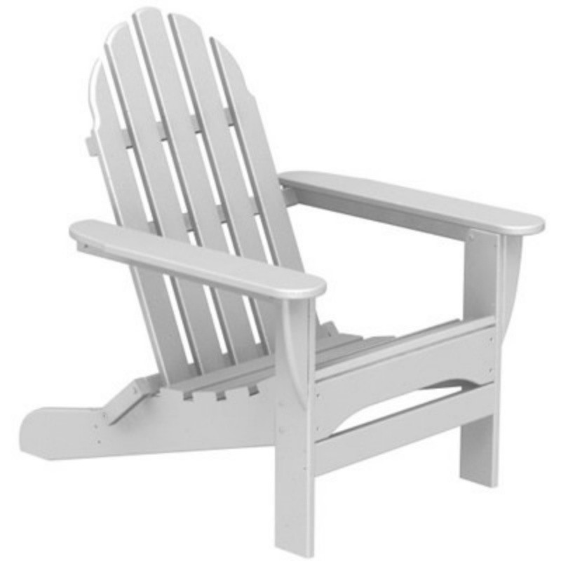 POLYWOOD® Classic Folding Adirondack Chair Traditional Colors