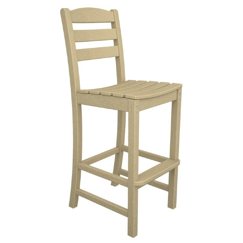 Polywood La Casa Plastic Bar Chair