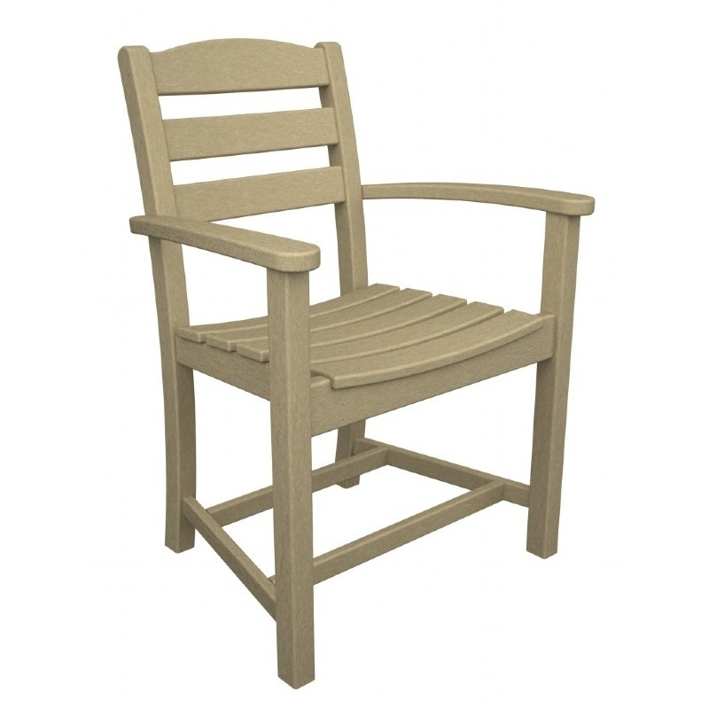 POLYWOOD® La Casa Outdoor Dining Arm Chair