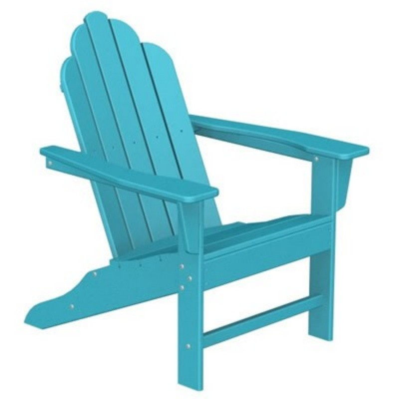 Plastic Wood Long Island Adirondack Chair Fiesta : Outdoor Chairs