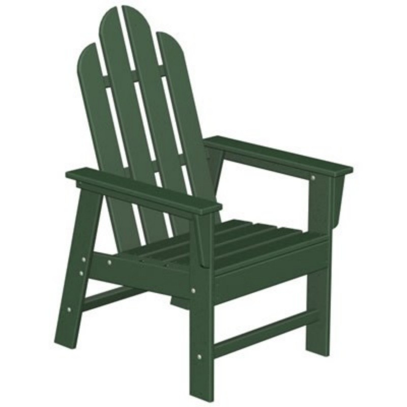 Plastic Wood Long Island Dining Chair Classic