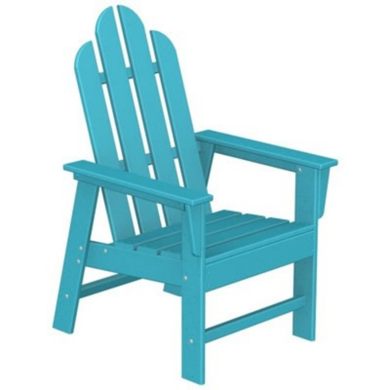 Plastic Wood Long Island Dining Chair Fiesta