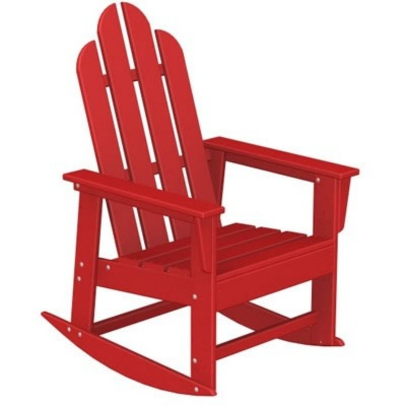 Polywood Long Island Outdoor Rocker Fiesta alternative photo