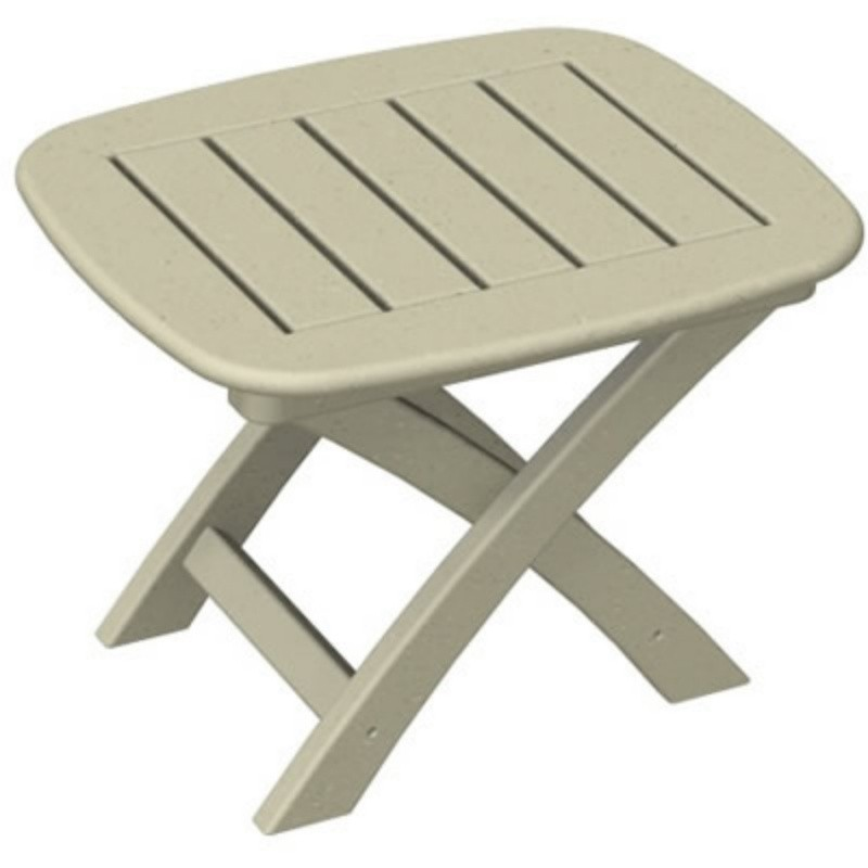 Plastic Wood Nautical Side Table Folding alternative photo #3